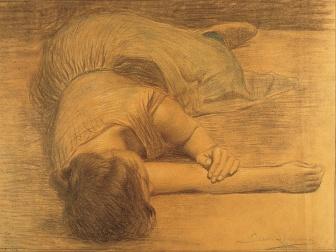 Joan_Llimona_-_Woman_Lying_Down_-_Google_Art_Project